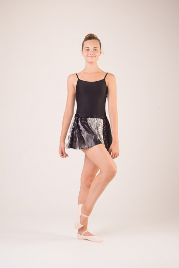 Jupe bi couleurs costume danse classique