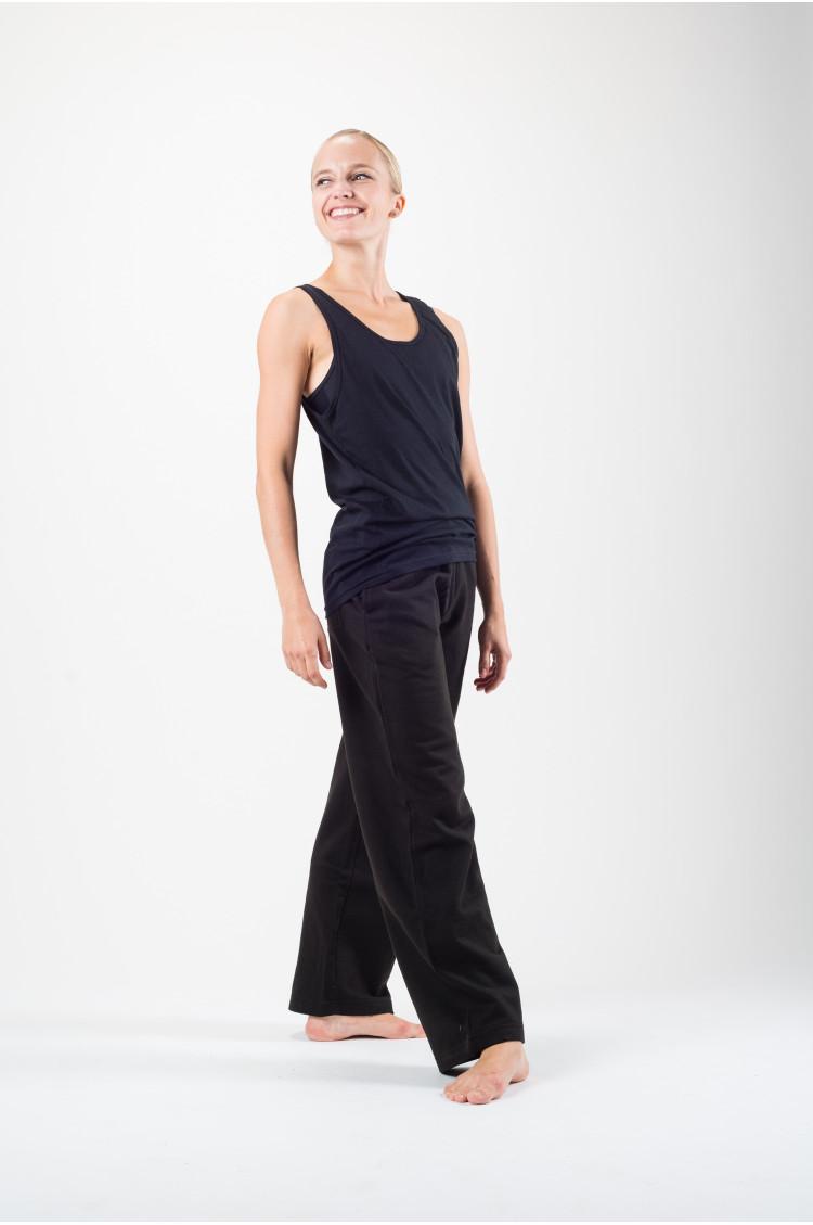 Pantalon coupe droite femme