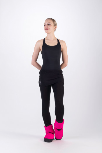 Warm up bootie Bloch IM009 fluo pink