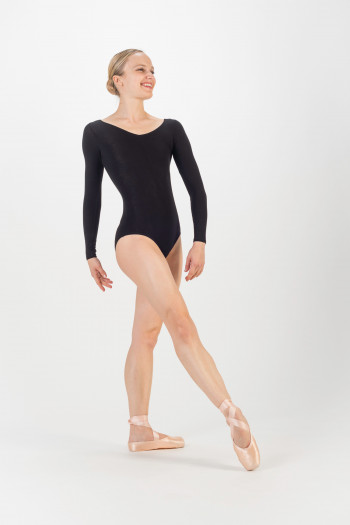 Temps Danse Marina black leotard