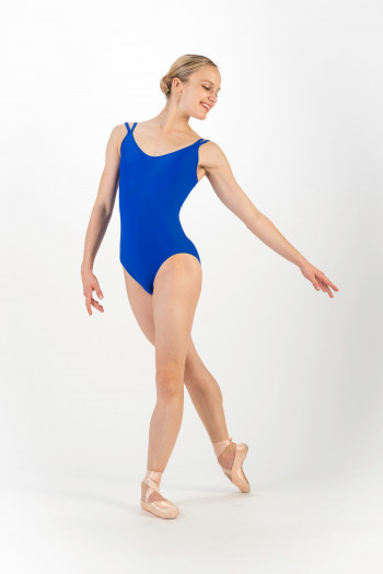 Vicard Celia bleu royal leotard