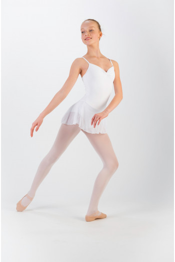 Wear Moi Ballerine white tunic for child