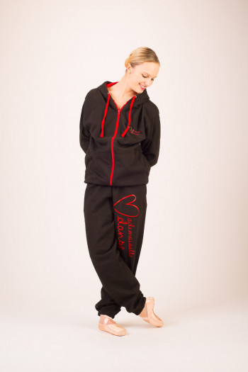 Bas de jogging femme flocage jambe entière