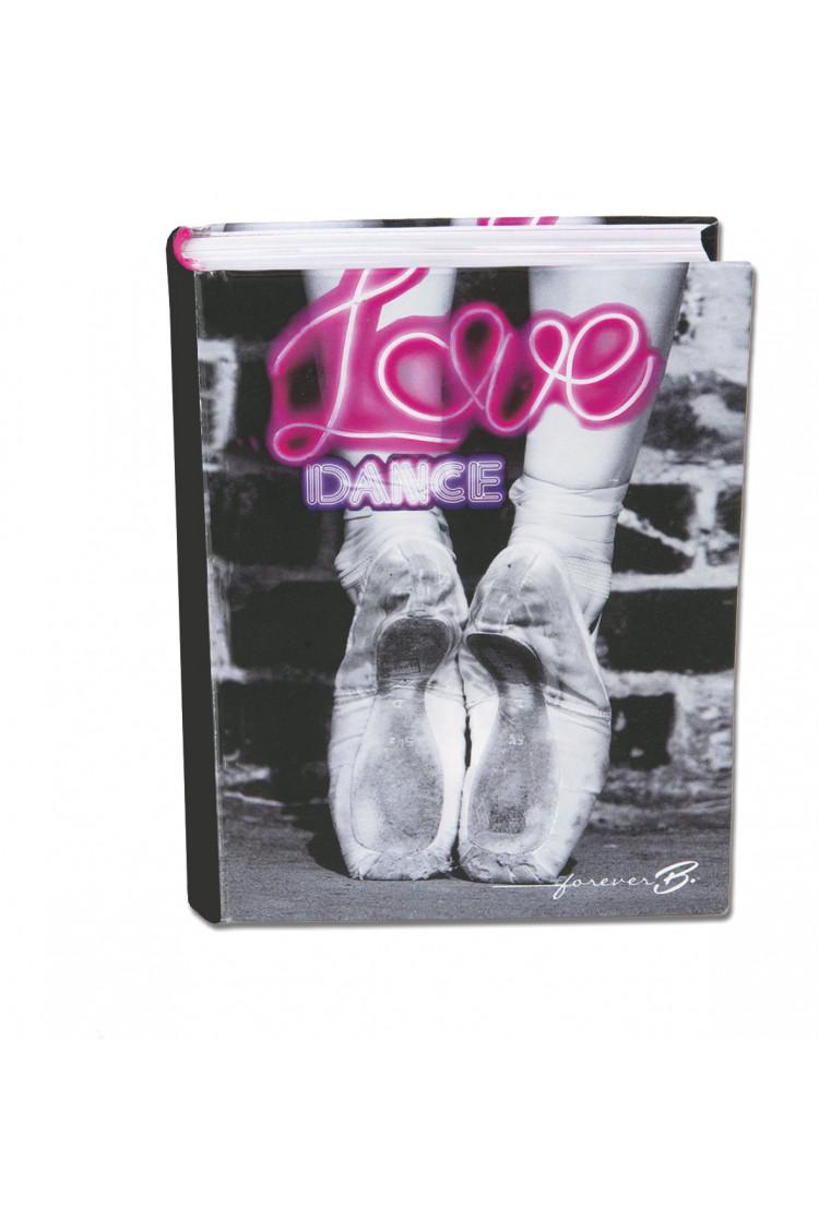 """Agenda danseuse 'Love Dance"""" 2017/2018"""