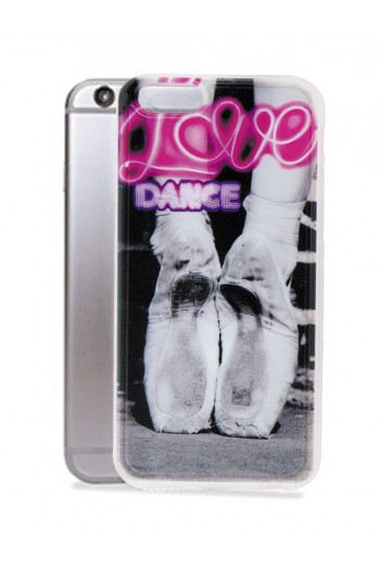 Coque iPhone 7 Forever B transparente Love Dance
