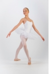 Capezio 10894C white camisole tutu for girl