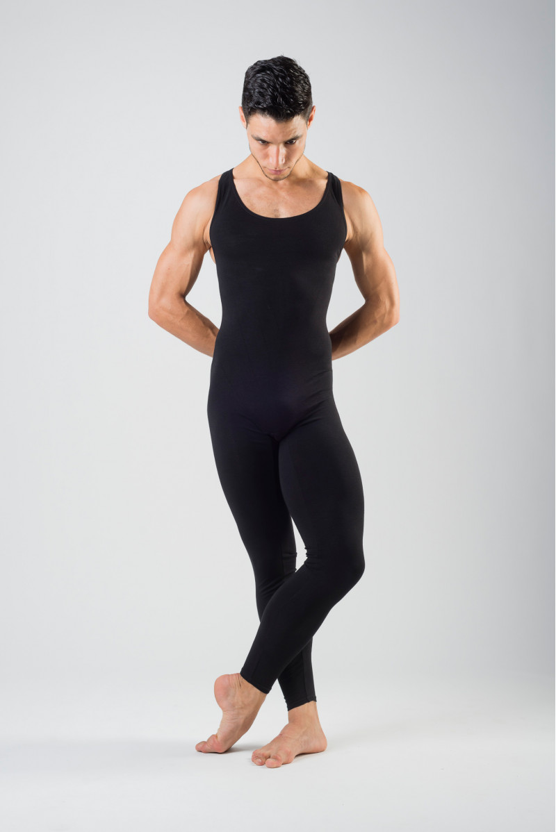 Capezio men black unitard
