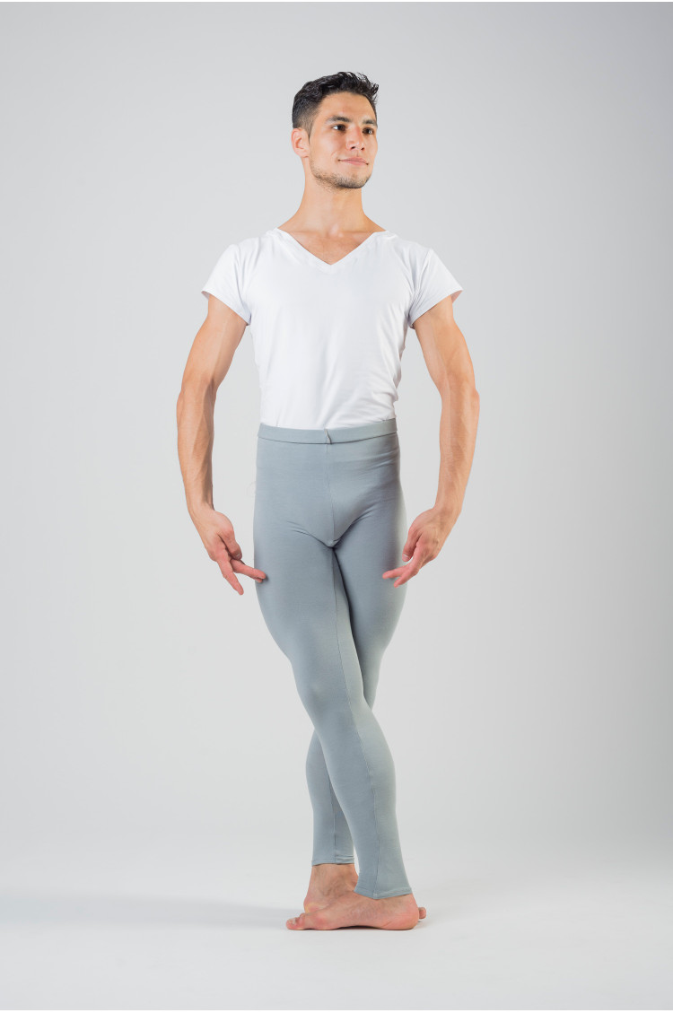 Wear Moi Hamada footless grey tights for men