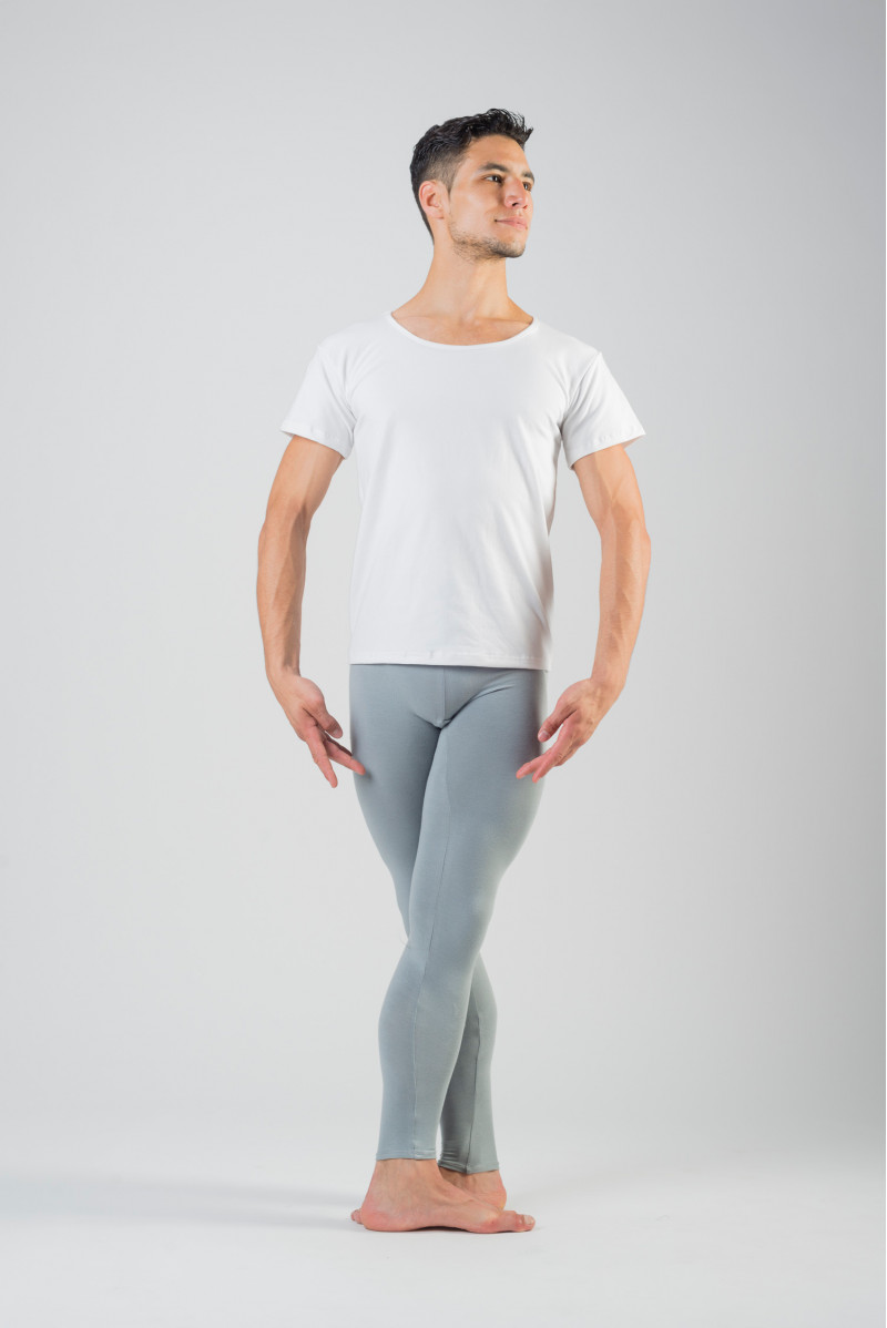 MDA men white dance T-shirt