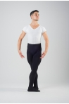 Wear Moi Solo black footed men tights