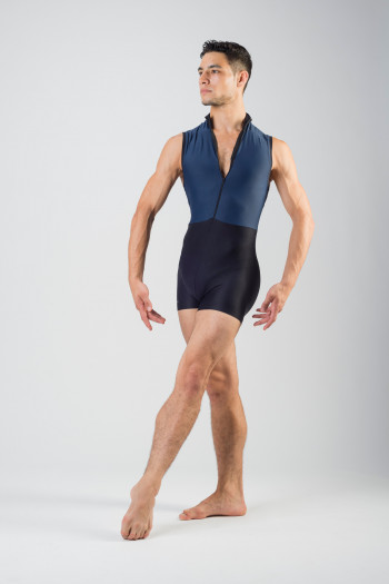 Wear Moi Capri camisole unitard for men navy