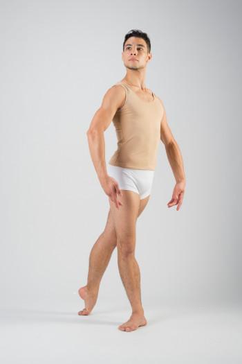 Short blanc Ballet Rosa Elia coton lycra