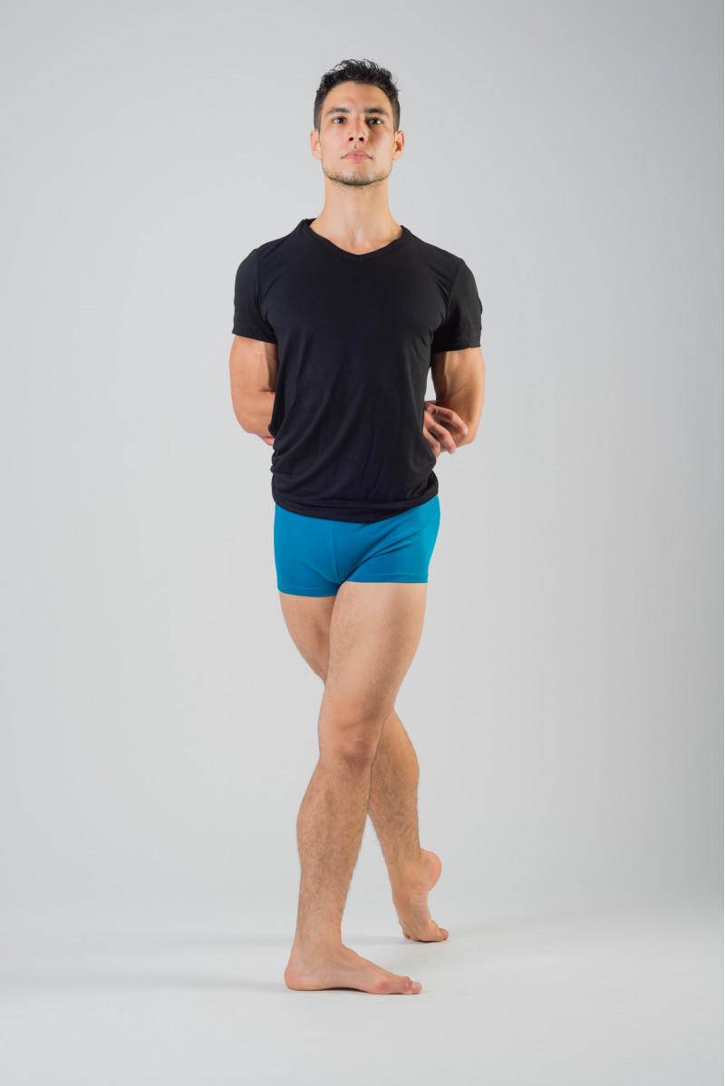 Short bordeaux Ballet Rosa Elia coton lycra