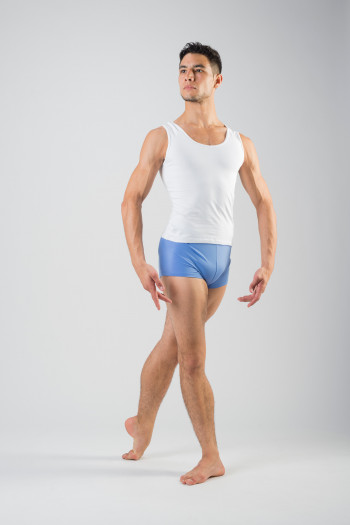 Ballet Rosa Elia cotton sky shorts