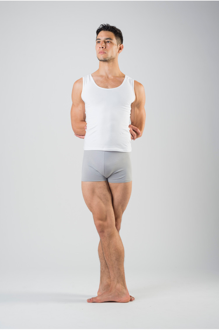 Ballet Rosa Elia microfiber grey shorts