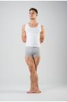 Short Ballet Rosa Elia coton lycra acier