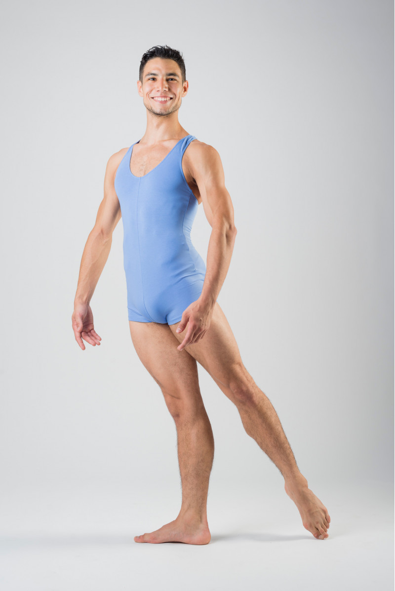 Combishort homme Patrick Ballet Rosa sky