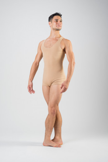 Ballet Rosa skin color short unitard Patrick