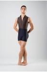 Combishort Wear Moi Capri black/maroon