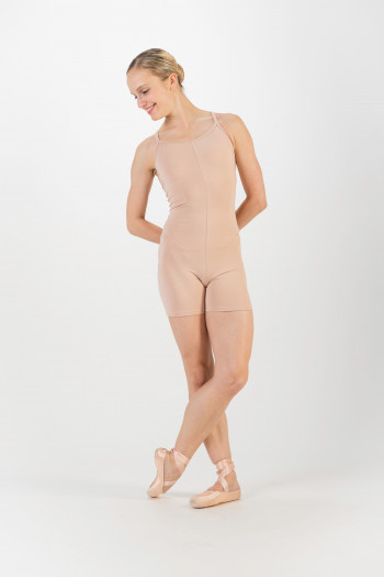 Playsuit flesh Temps Danse Majestic