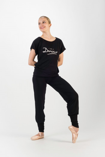 Temps danse Black jazz t-shirt