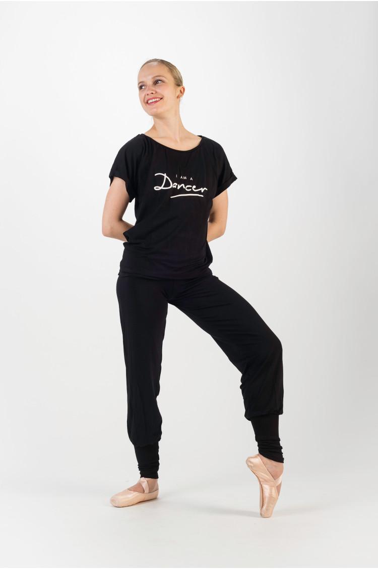 Temps danse Black jazz t-shirt
