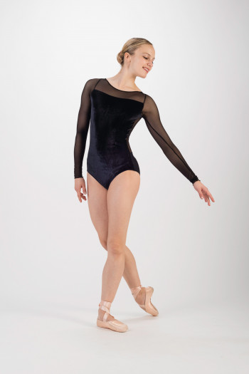 Ballet Rosa leaotard for women Christa black