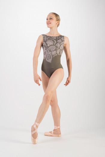 Justaucorps Ballet Rosa Salome khaki