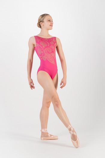 Justaucorps Ballet Rosa Salome cerise