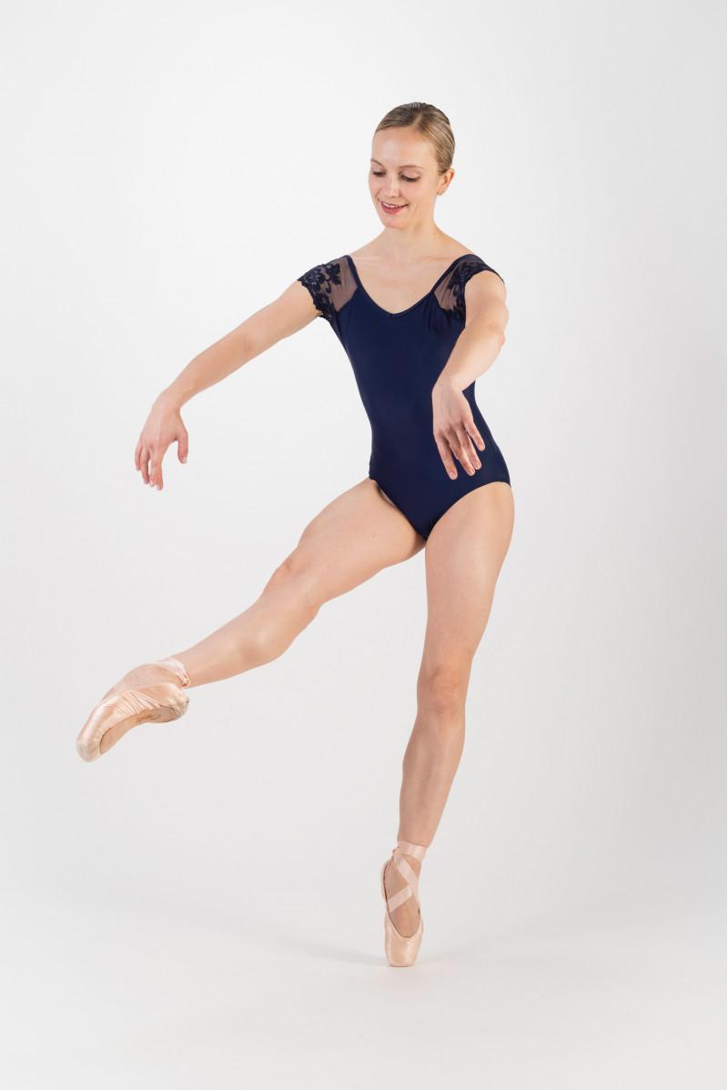 Justaucorps Ballet Rosa Josephine marine
