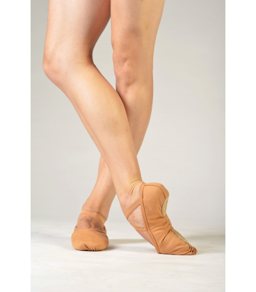 Sansha soft flesh ballet shoes Pro 1C
