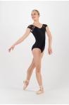 Justaucorps Ballet Rosa Josephine noir