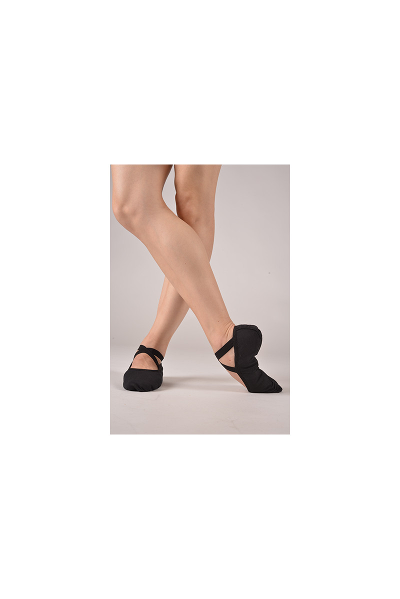 Dttrol black ballet soft shoes
