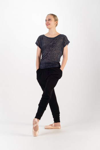 Tee Shirt Repetto dévoré Anthracite D0708
