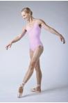 Wear Moi Galate pink leotard