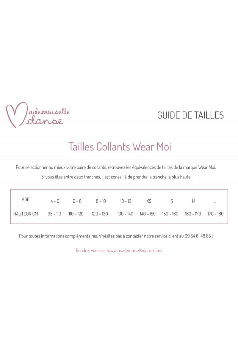 Collants avec pieds Wear Moi DIV01 rose