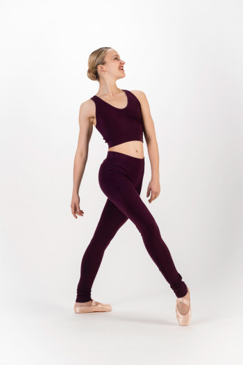 Legging sans couture Repetto violet patchouli