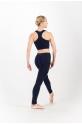 Legging sans couture Repetto bleu classique