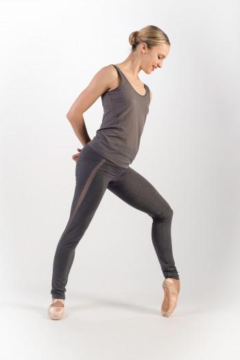Legging Repetto gris chiné