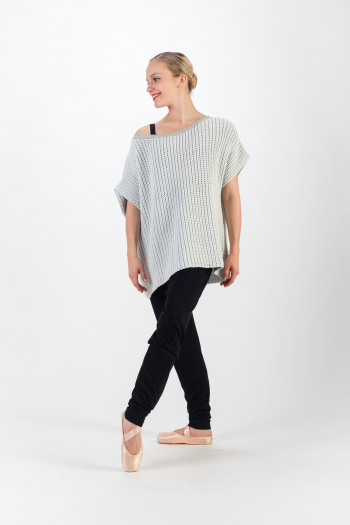 Pull Repetto en maille gris clair