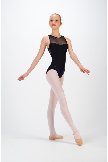 Wear Moi Merveille child black leotard