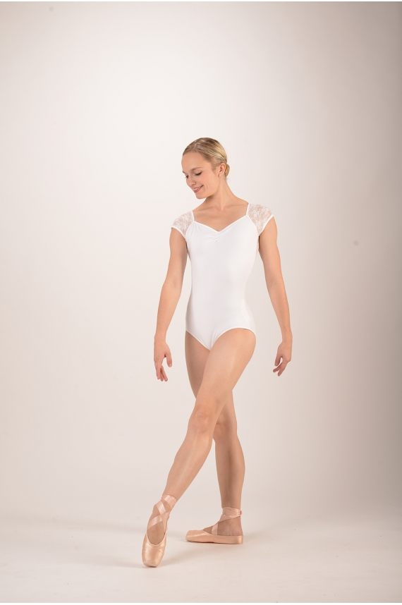 Intermezzo - Lace leotard for women 31125 - Mademoiselle Danse 8dbe610a5