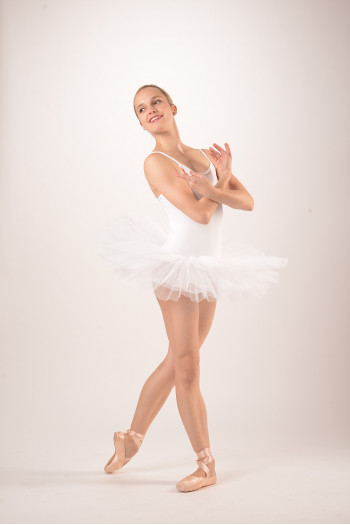 Intermezzo Tutu Leotard 3152 white