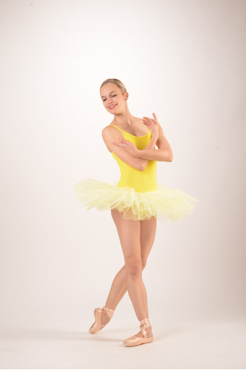 Intermezzo Tutu Leotard 3152 amarillo