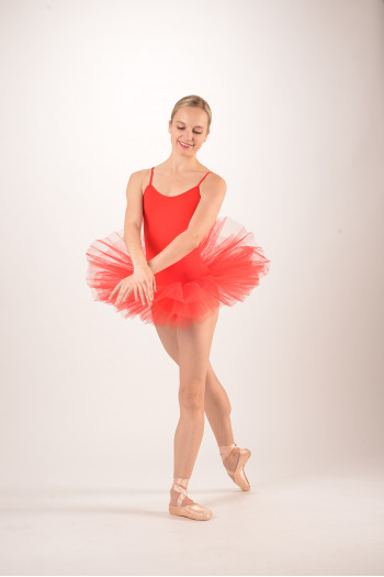 Intermezzo Tutu Leotard 3152 rojo