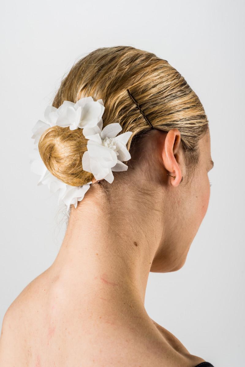 Elastique cheveux fleur Repetto
