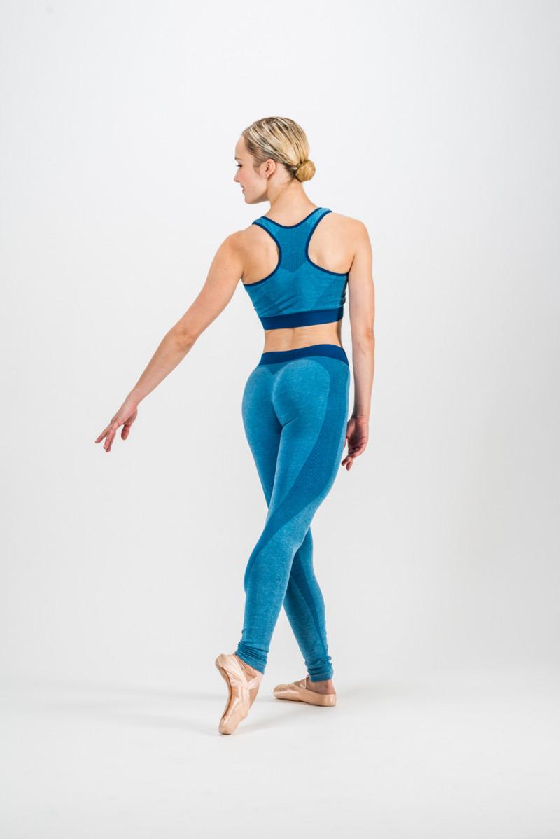 Brassière sans couture Repetto bleu classique