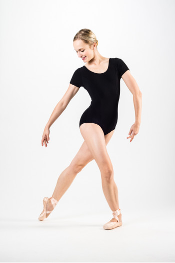 Temps Danse Madras black women leotard