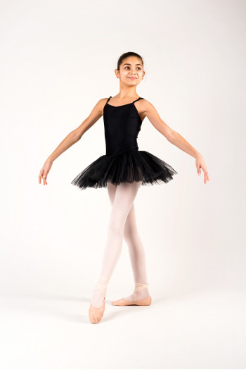 Capezio 10894C black camisole tutu for girl