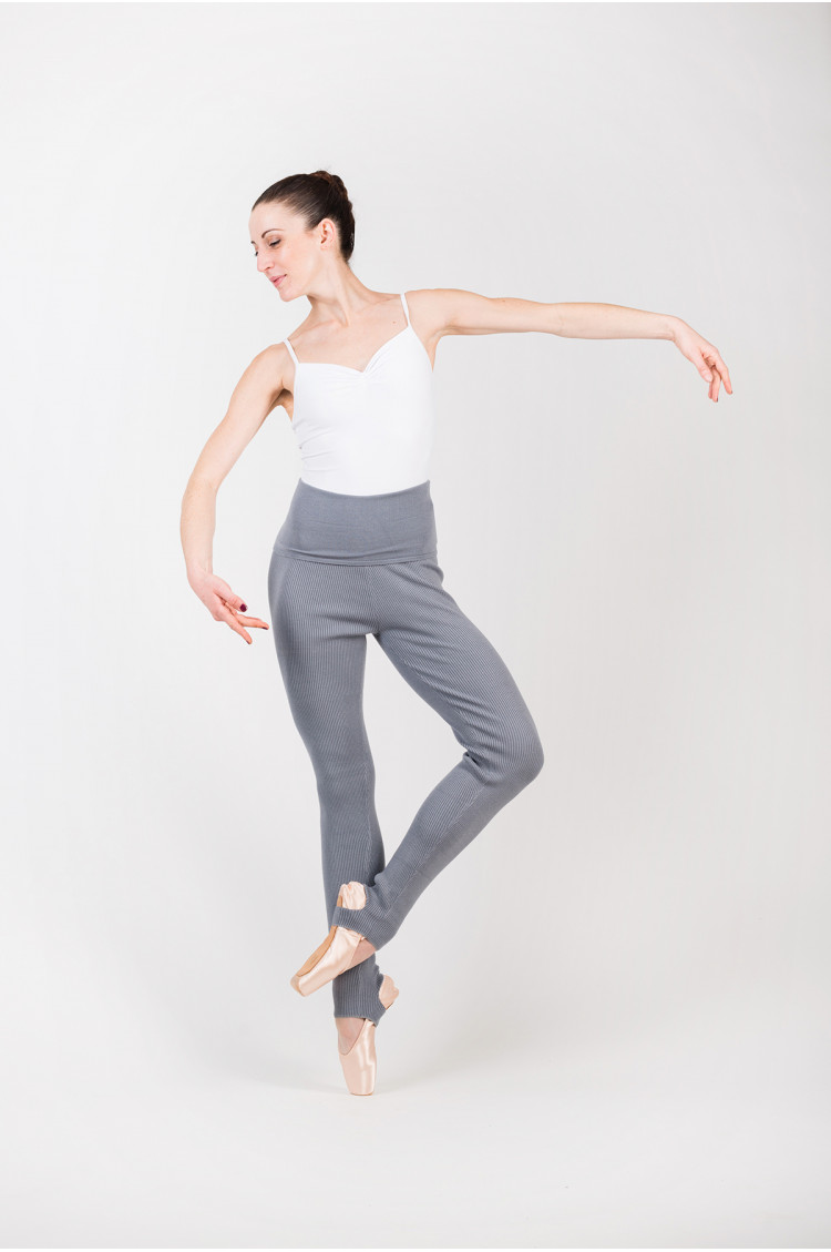 Capezio grey warm up tights